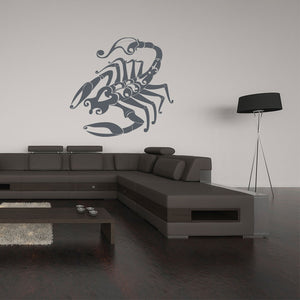 scorpio wall decal