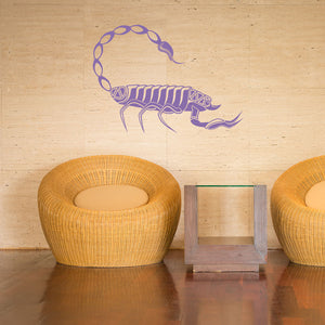 Scorpion-Wall Decal