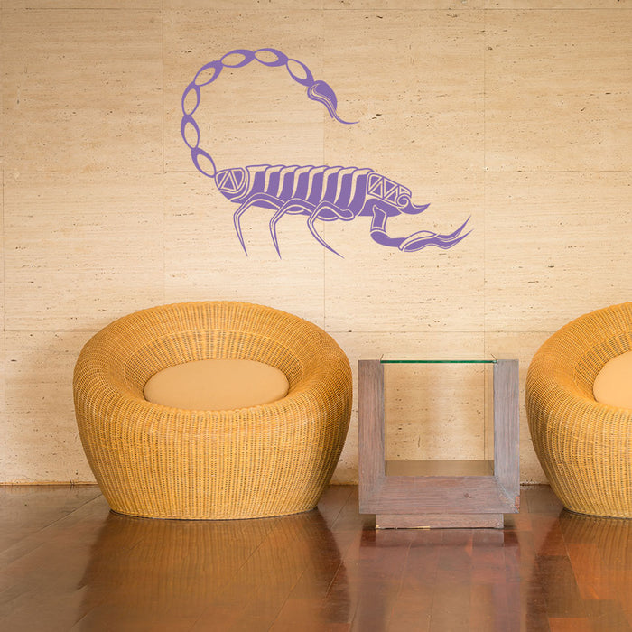 Scorpion Wall Decal