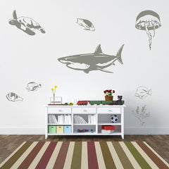 Sea Animal Set-Wall Decal