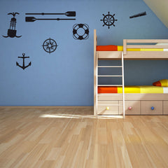 Seafaring Set-Wall Decal