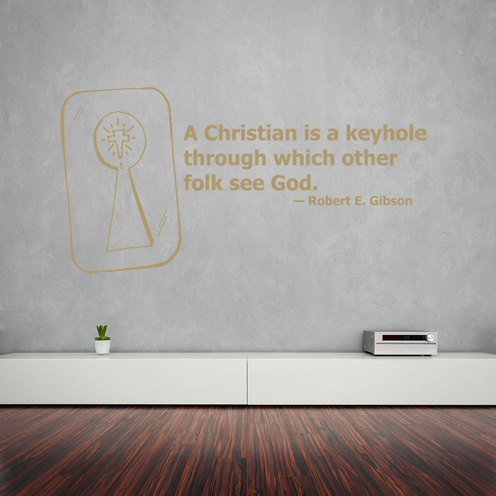 See God Wall Decal