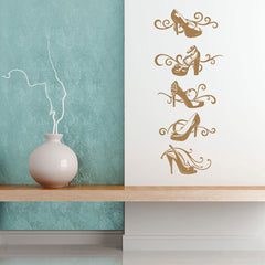 Designer Shoes-Wall Decal