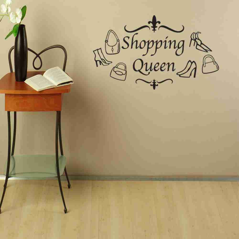 Shopping Queen Wall Decal-Wall Decals-Style and Apply