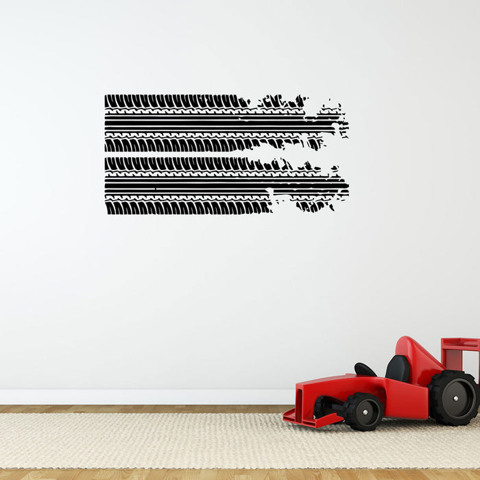 Skidmarks Wall Decal