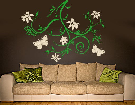 Sky Bough-Wall Decals-Style and Apply
