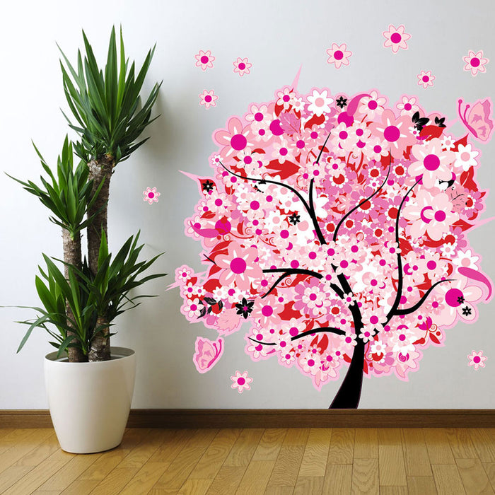 Flower Tree Sticker