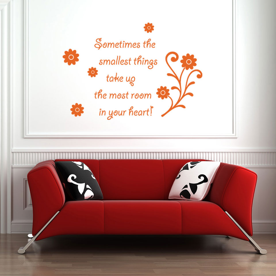 Smallest Things-Wall Decal