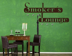 Smoker Lounge-Wall Decal Hangers-Style and Apply