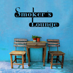 Smoker's Lounge-Wall Decal