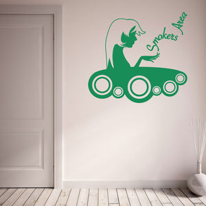 Smokers Area-Wall Decal