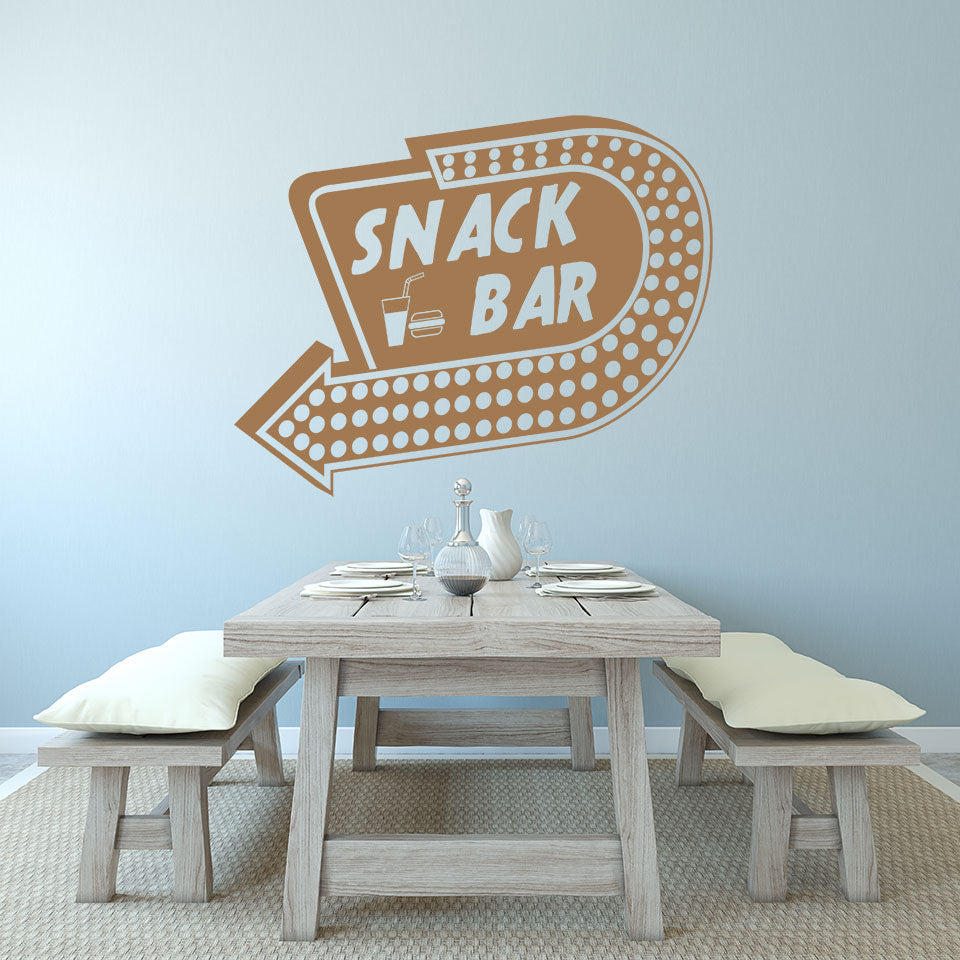 Snack Bar-Wall Decal