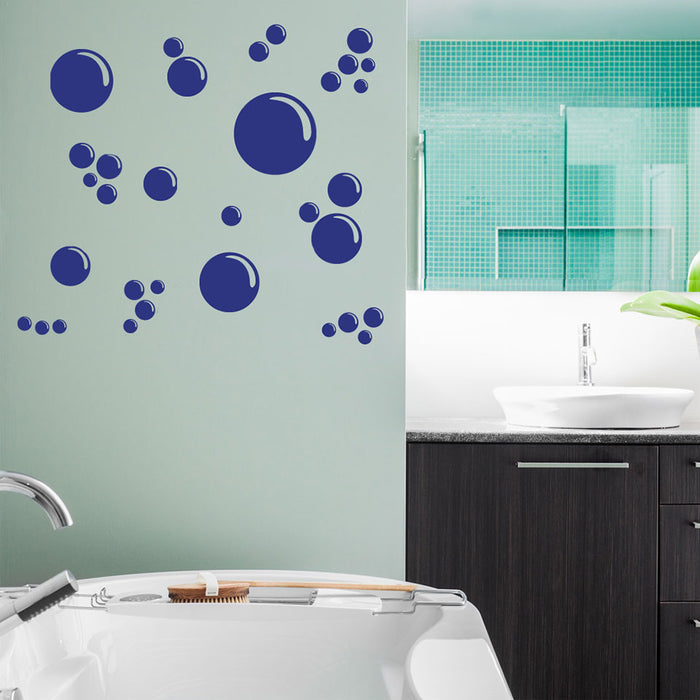 Soap Bubble Wall Decal Set