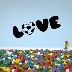 Soccer Love Wall Decal-Wall Decals-Style and Apply
