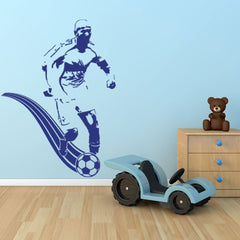 Soccer Player-Wall Decal