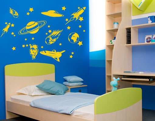 Space Journey Set-Wall Decals-Style and Apply