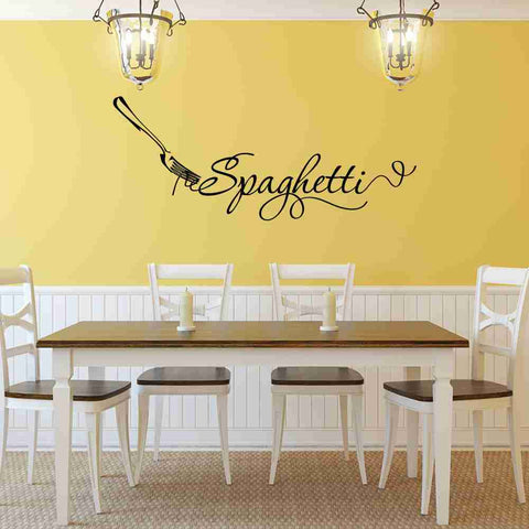 Spaghetti Wall Decal-Wall Decals-Style and Apply