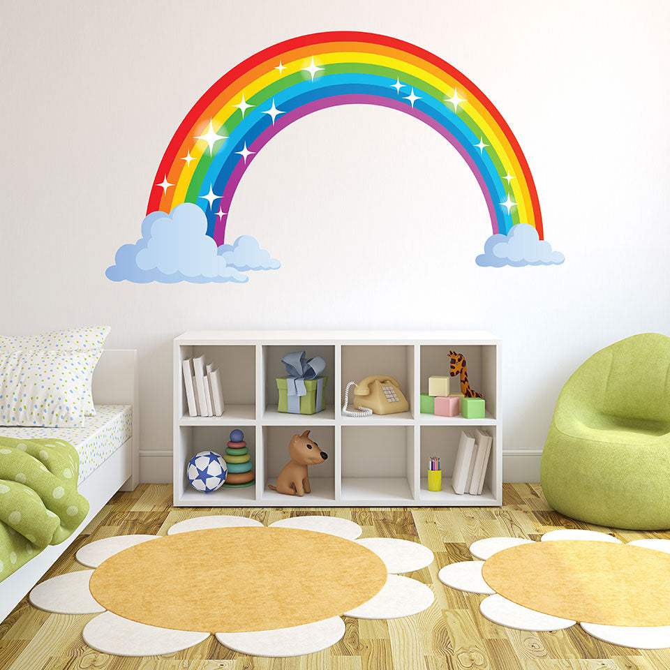Sparkling Rainbow Wall Decal sticker