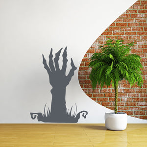 Spooky Hand Print-Wall Decal