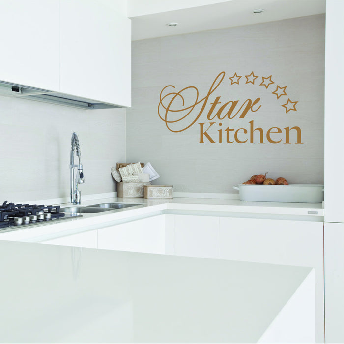 Star Kitchen Wall Decal