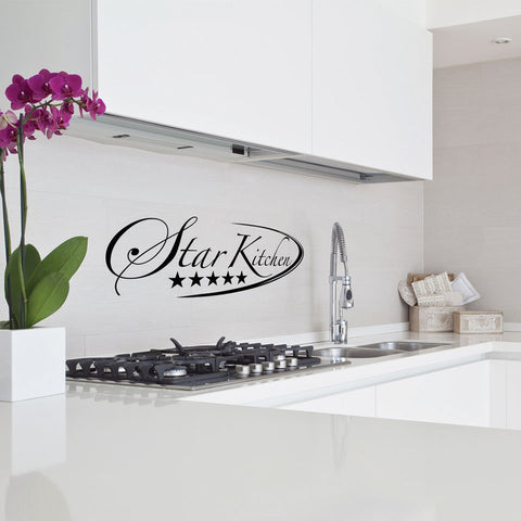Star Kitchen Decal