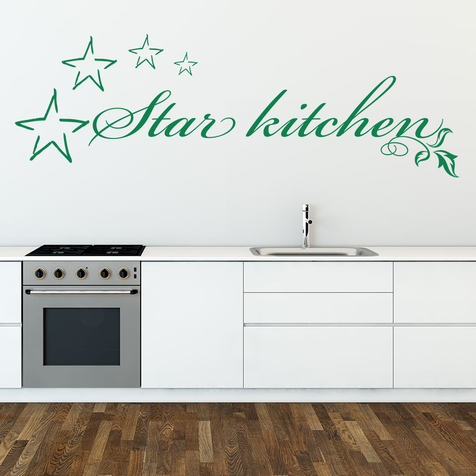 Star Kitchen Wall Decal – Style and Apply