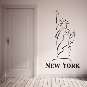 Statue of Liberty-Wall Decals-Style and Apply