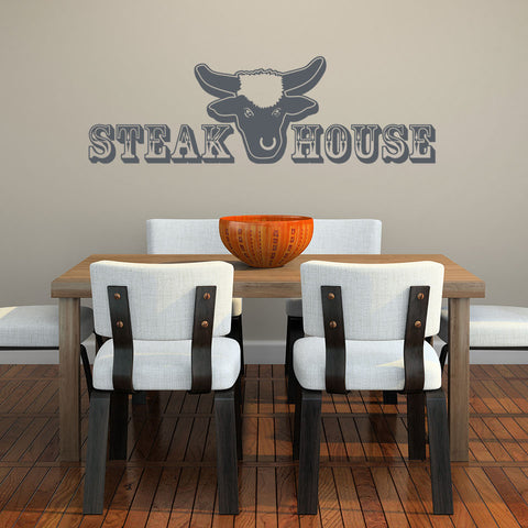 Steak House-Wall Decal