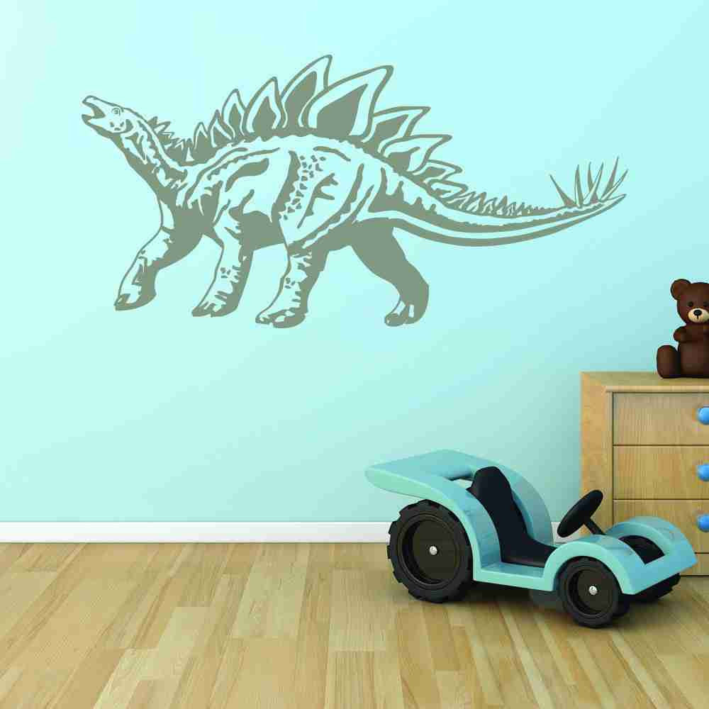 Stegosaurus Wall Decal-Wall Decals-Style and Apply