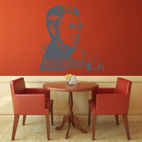 Steve McQueen-Wall Decal