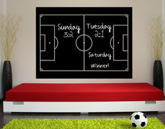 Strategy Board-Blackboard and Whiteboard Wall Decals-Style and Apply