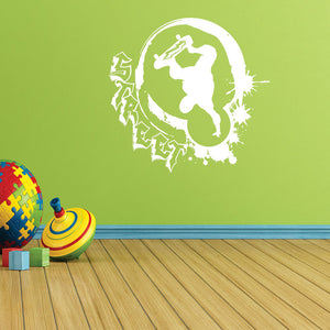 Street Style Skater-Wall Decal