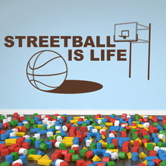 Streetball-Wall Decal
