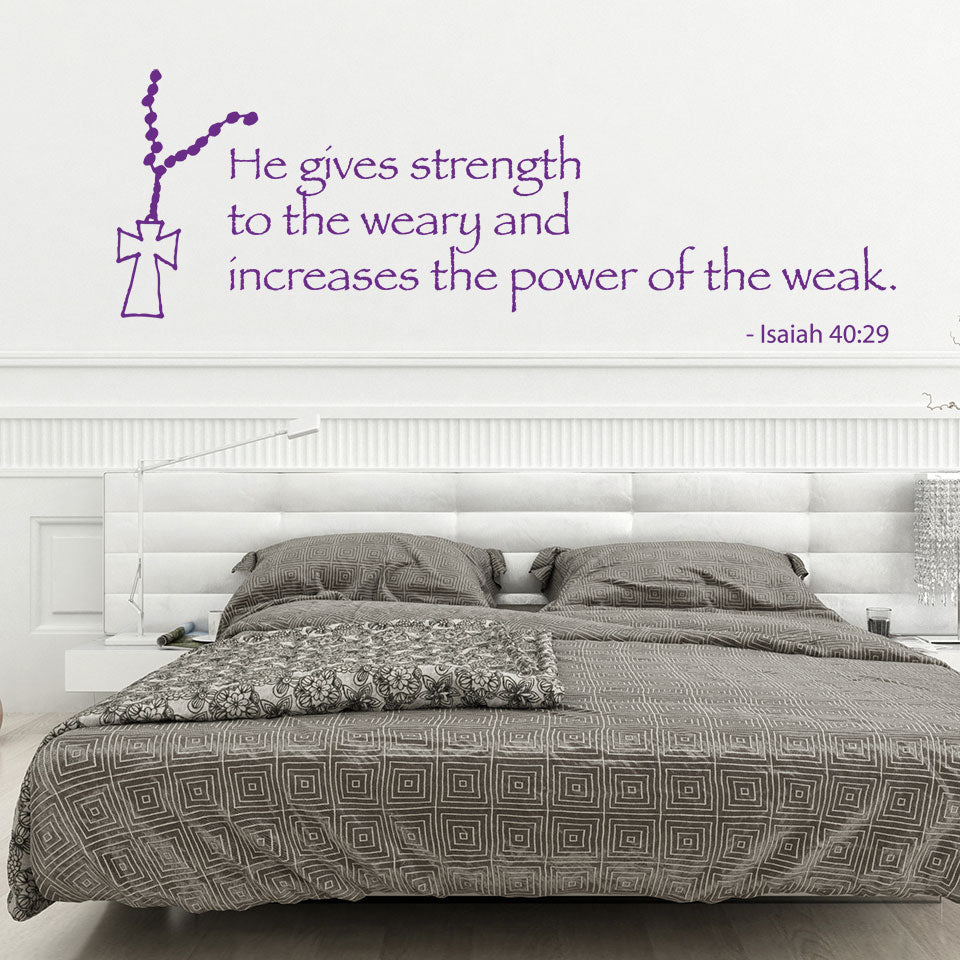 Strength-Wall Decal