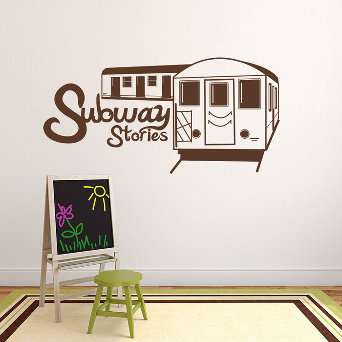 Subway Stories Wall Decal