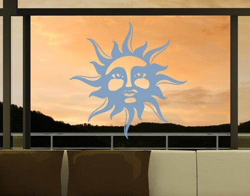 Sun Decal For Glass