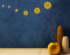 Sunflowers Hanger-Wall Decal Hangers-Style and Apply
