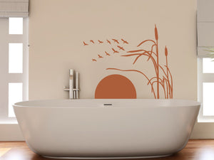 Sunset Wall Decal-Wall Decals-Style and Apply