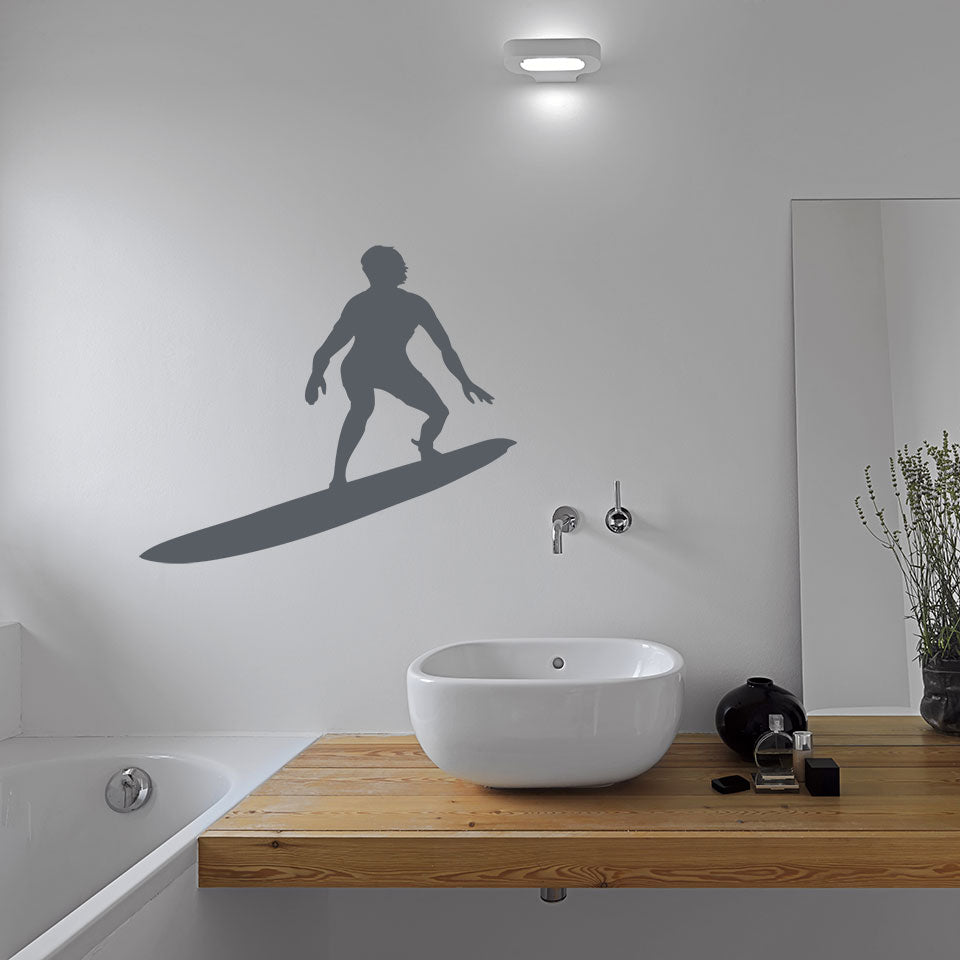 Surfer-Wall Decal