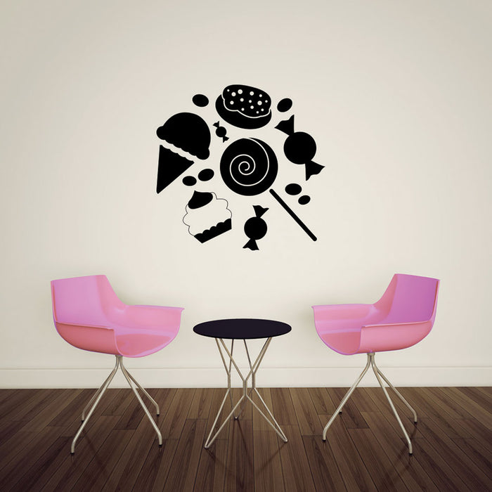 Sweets Wall Decal