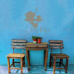 Tea Time-Wall Decal
