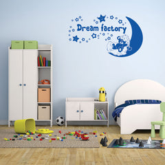 Teddy's Dream Factory-Wall Decals-Style and Apply