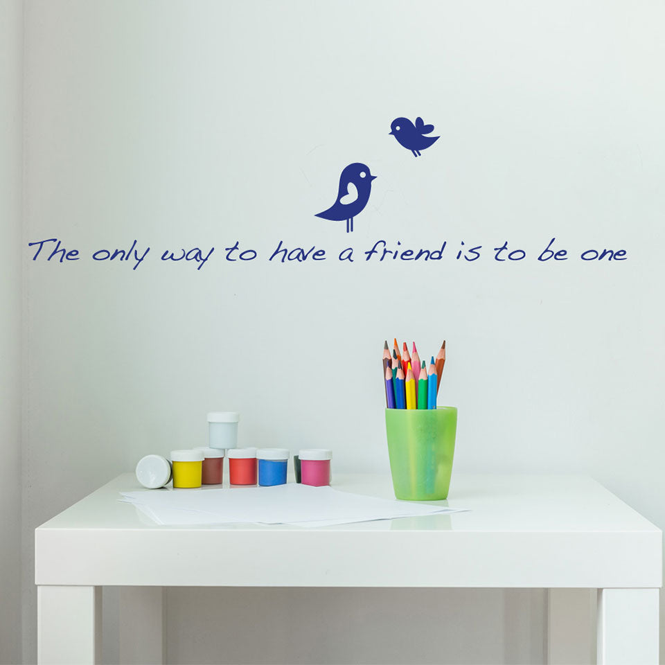 Only Way-Wall Decals