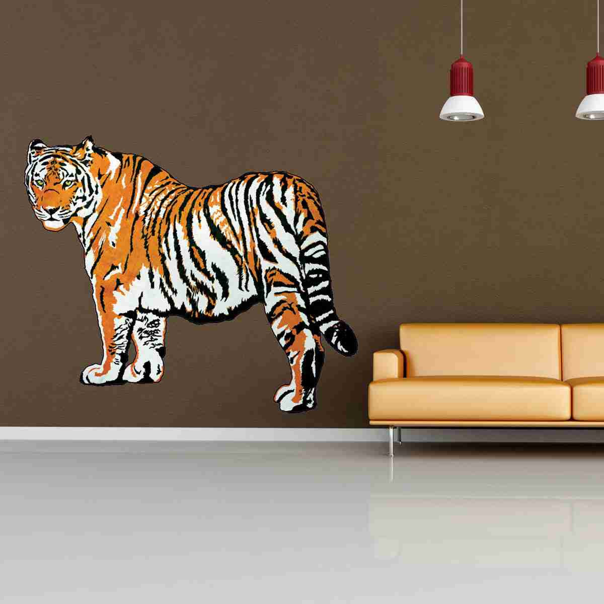 Tiger Wall Decal Sticker-Wall Decal Stickers-Style and Apply