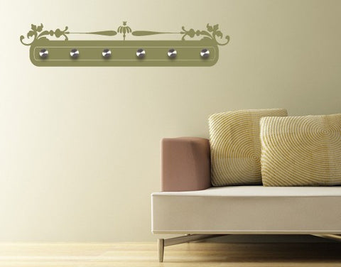 Tray-Wall Decal Hangers-Style and Apply