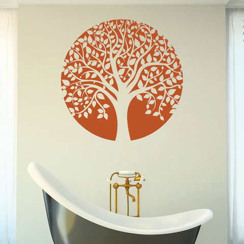 Tree Circle Wall Decal