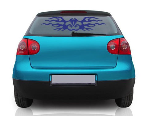 Tribal 6-Car Decals-Style and Apply