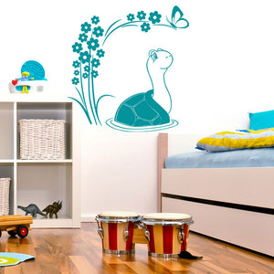 Turtle Decal-Wall Decals-Style and Apply