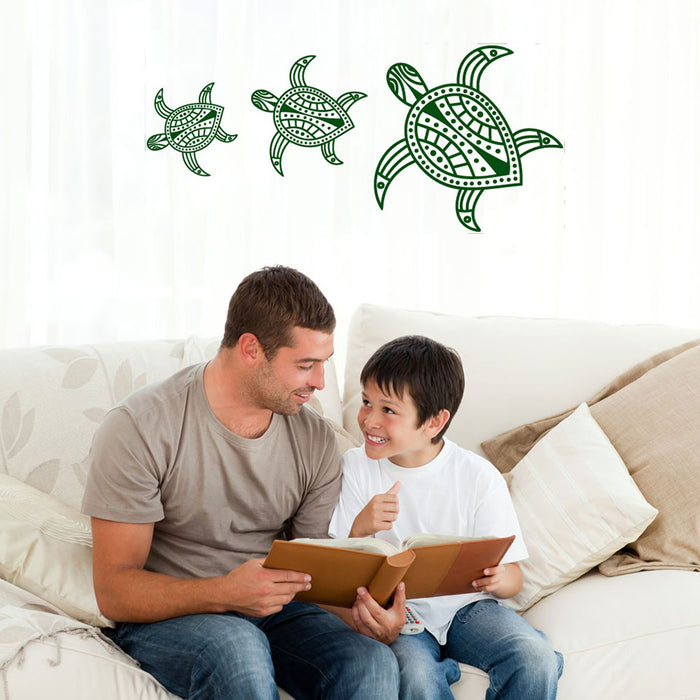 Turtles Wall Decal