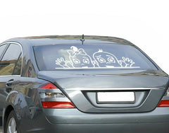Twins-Car Decals-Style and Apply